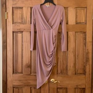Charlotte Russe nude/pink dress